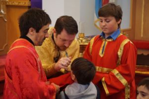 Holy Communion on Lazarus Saturday